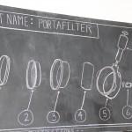 diagram of a portafilter