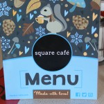Square Cafe Menu